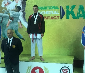 Brandon Harvey UWK World Champion 2017