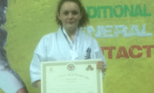 Ellie Thomas UWK World Champion 2017