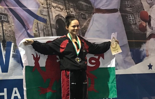 Lauren Gallagher IKU World Champion 2017