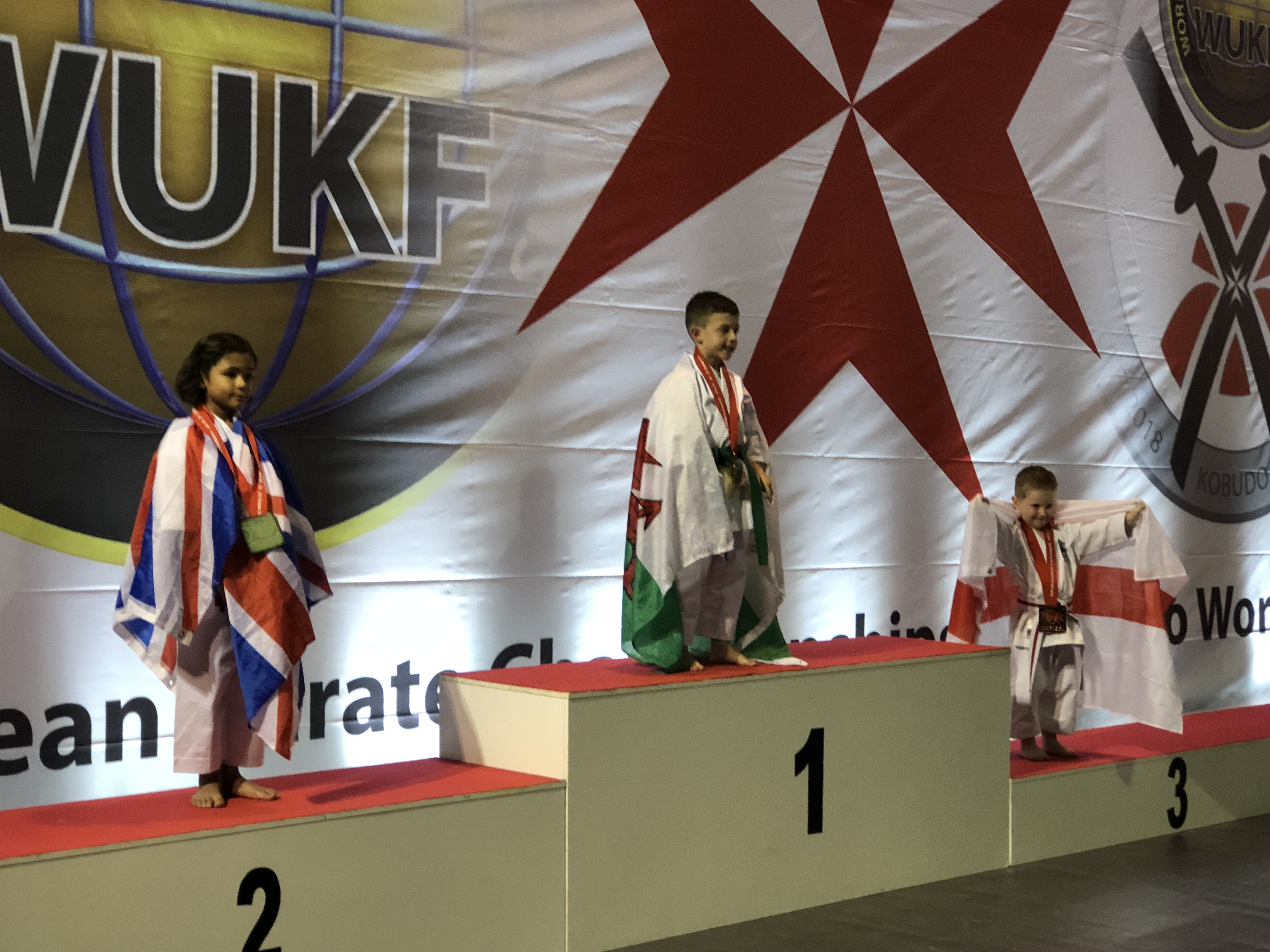 JAKOB BARTUSH  - WUKF European Champion 2018