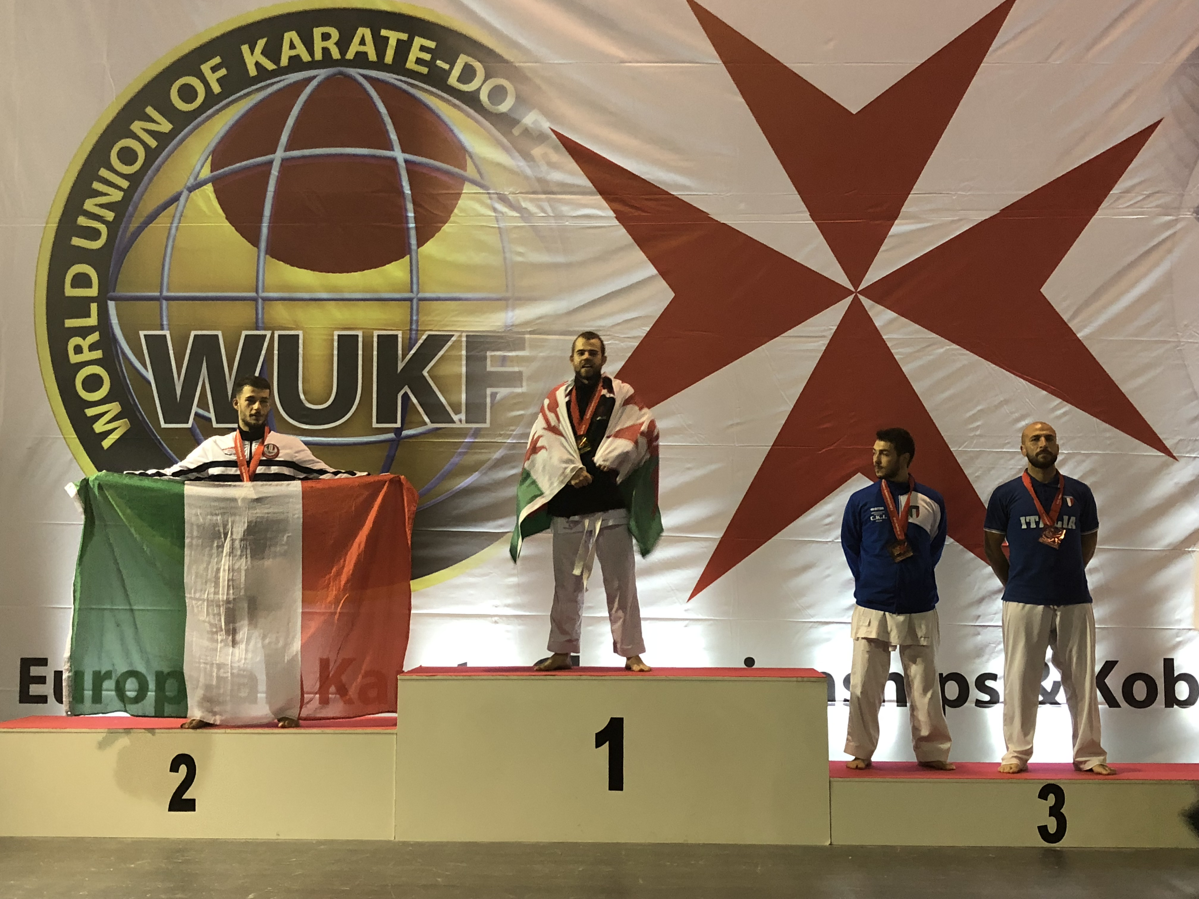 CAIN FANCIS - WUKF European Champion 2018
