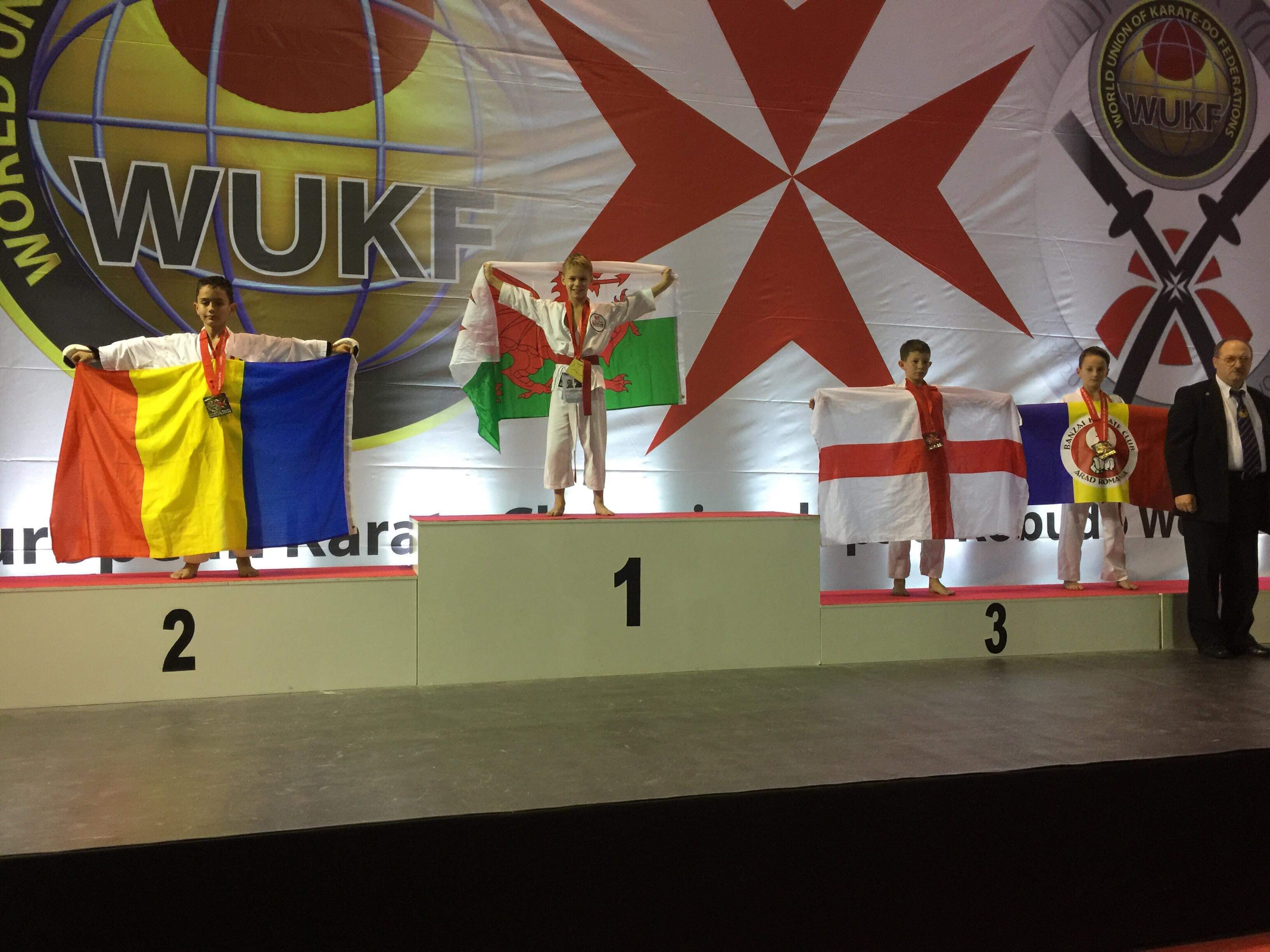 JAC TUCKER  - WUKF European Champion 2018