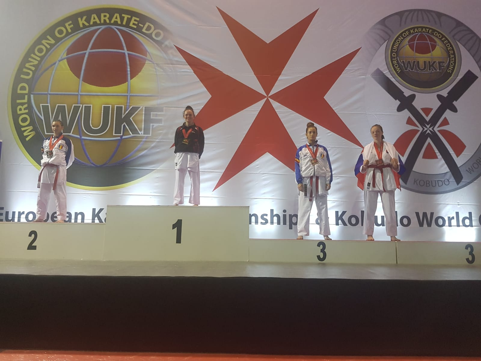 LAUREN GALLAGHER  - WUKF European Champion 2018