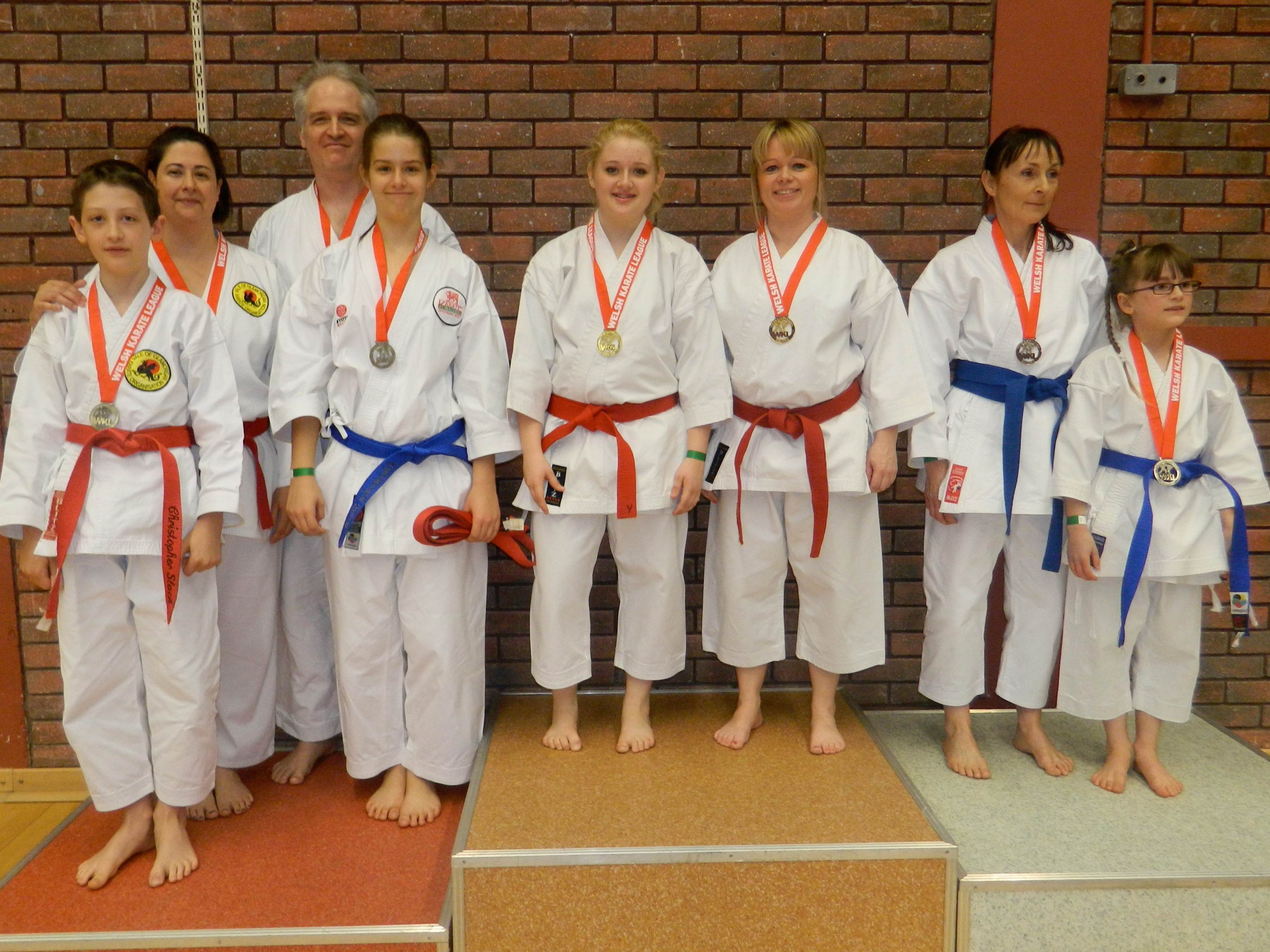 Vale Karate dominate the new Parent & Child Kata category